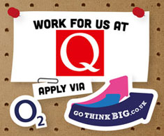 Work for us at Q